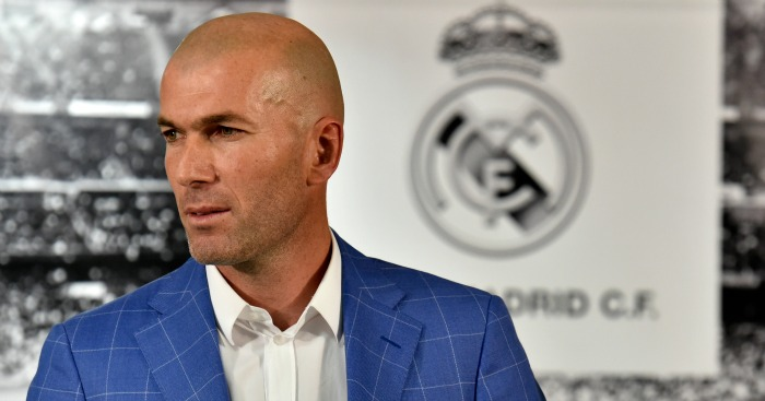 Zinedine Zidane: Unveiled as new Real Madrid coach