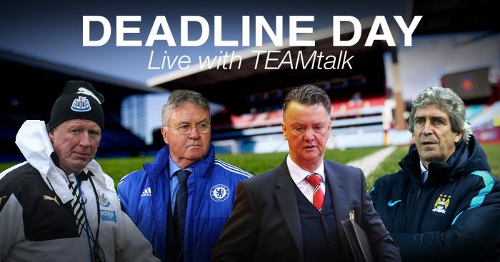 Transfer Deadline Day: Live updates