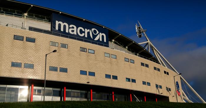 Macron Stadium: Bolton selling a carpark