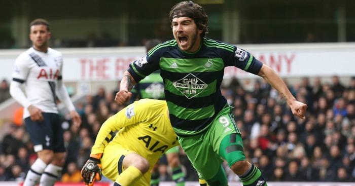 Alberto Paloschi Tottenham v Swansea