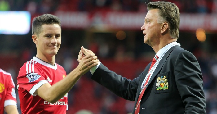 Ander Herrera: Expects LVG to guide United into CL