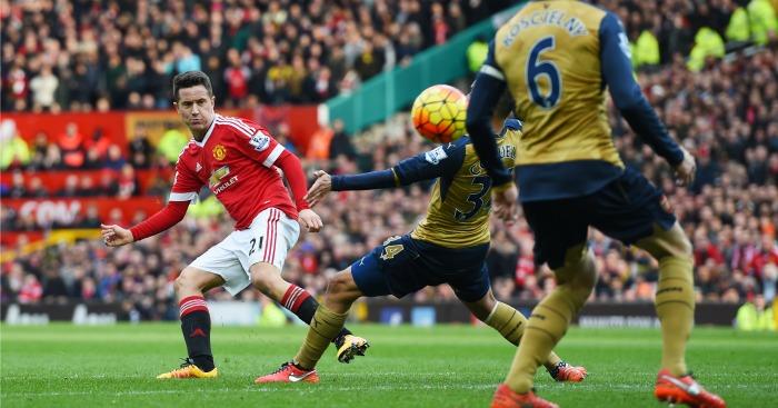 Ander Herrera Manchester United v Arsenal