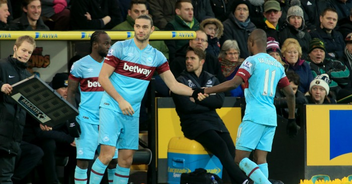 Andy Carroll: Striker started only seven league games this term