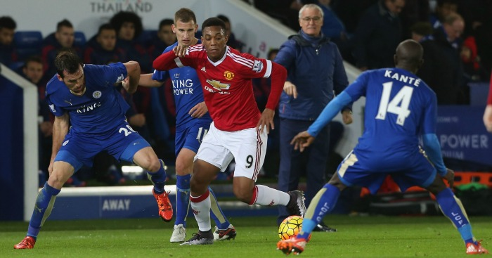 Anthony Martial: Takes on N'Golo Kante and Christian Fuchs