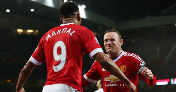 Anthony Martial: Enjoys playing with Wayne Rooney