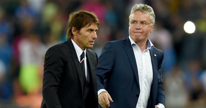 Antonio Conte: Could succeed Guus Hiddink at Chelsea