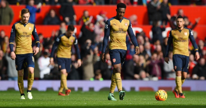Arsenal: Poor performance at Old Trafford