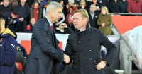 Wenger & Koeman: Before it 'all kicked off'