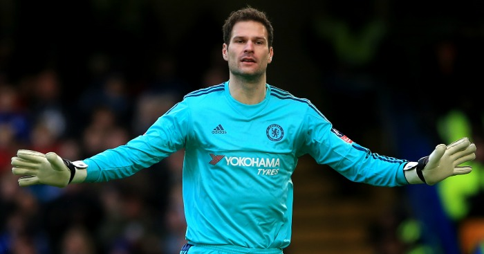 Asmir Begovic: Chelsea goalkeeper linked with Everton
