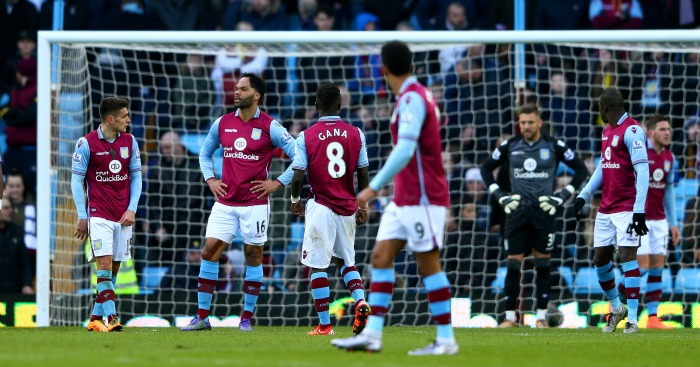 Aston Villa despondent