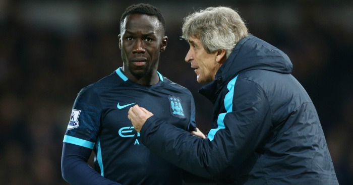 Bacary Sagna: Keen to ensure Pellegrini ends on a high