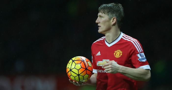 Bastian Schweinsteiger: Manchester United midfielder out of Everton game
