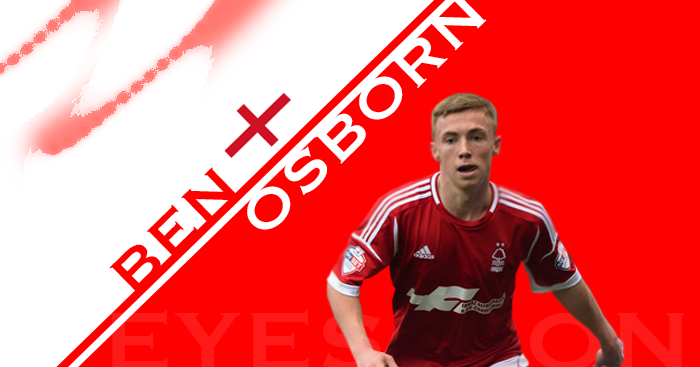 Ben Osborn: Midfielder featured 19 times this term