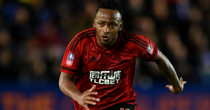 Saido Berahino: Looking heavy, according to Clarke