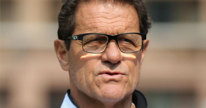 Fabio Capello: Outlines England's problems