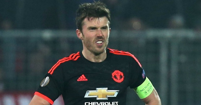 Michael Carrick: Not happy with United display
