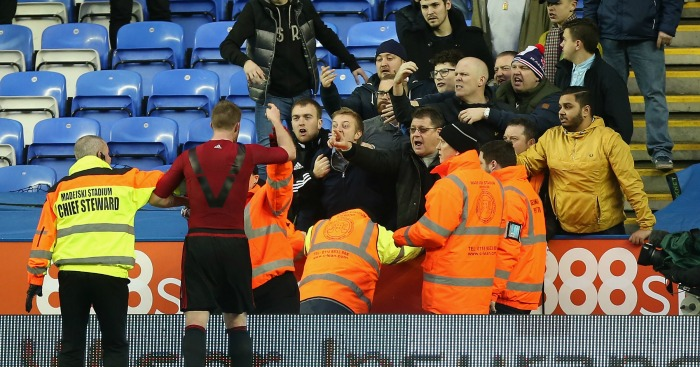 Chris Brunt West Brom fans