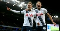 Christian Eriksen and Harry Kane: Earned Tottenham 2-1 win at Manchester City