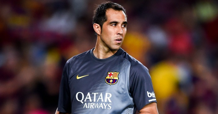 Claudio Bravo: Seen as Joe Hart replacement.