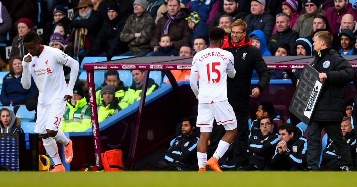 Jurgen Klopp: Described Daniel Sturridge as a 'real striker'
