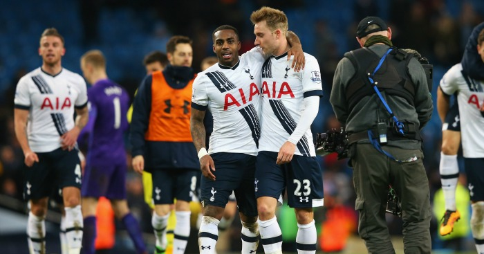 Christian Eriksen: Match winner for Tottenham at Manchester City