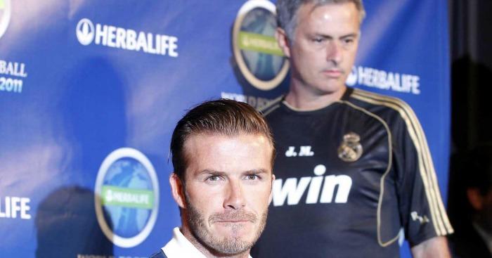 David Beckham: Hints at Mourinho appointment