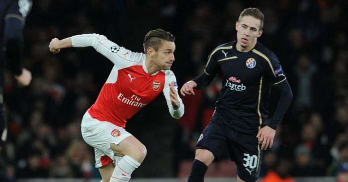 Mathieu Debuchy: Defender displaced by Hector Bellerinq