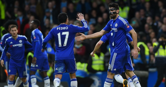 Diego Costa: Seven goals in seven games for Chelsea