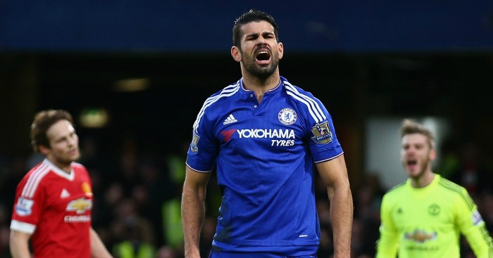 Diego Costa: On the mark against Man United