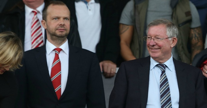 Ed Woodward Sir Alex Ferguson