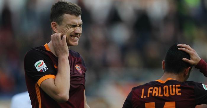 Edin Dzeko: Embarrassed on Sunday during Roma's win