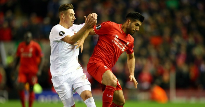 Emre Can: Hoping for League Cup final glory