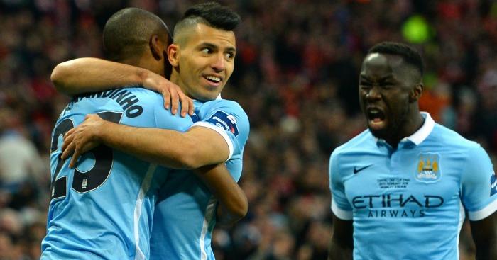 Fernandinho Manchester City v Liverpool