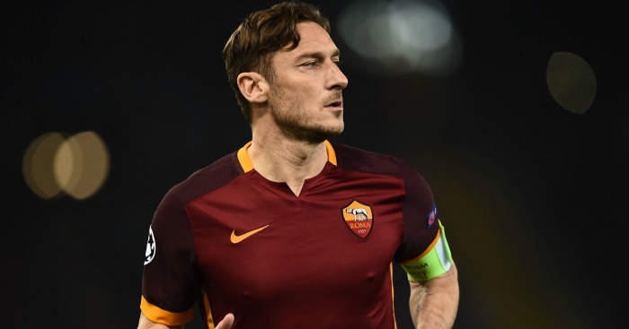 Francesco Totti: Roma star linked with Premier League move