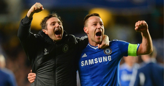 Frank Lampard: Says Chelsea lack personalities apart from John Terry