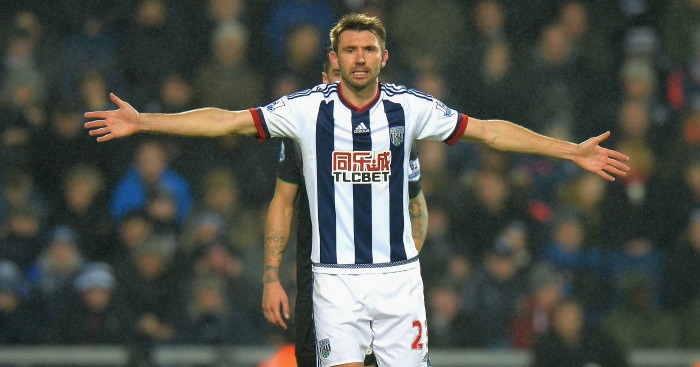 Gareth McAuley: West Brom defender misses Reading game