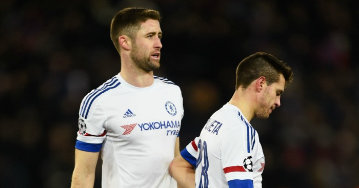 Gary Cahill: Defender impressed despite defeat at PSG