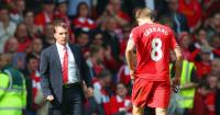 Steven Gerrard: Slipped up against Chelsea