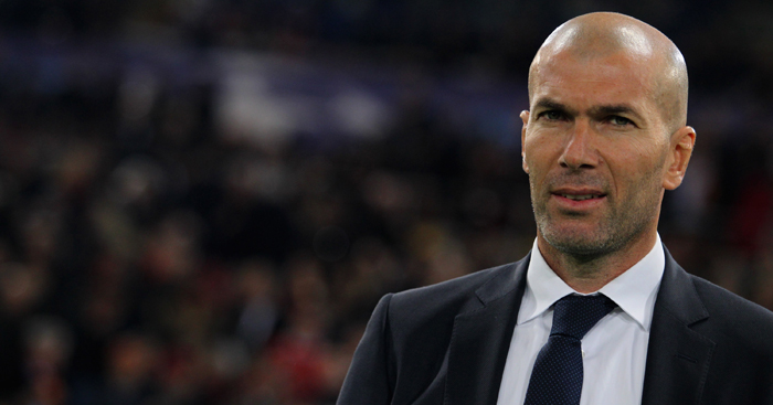 Zinedine Zidane can face son Enzo when Madrid visits Alaves