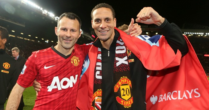 Giggs & Ferdinand: Team-mates for 12 years