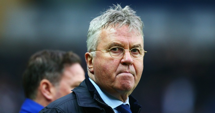 Guus Hiddink: Praised the commitment of John Terry