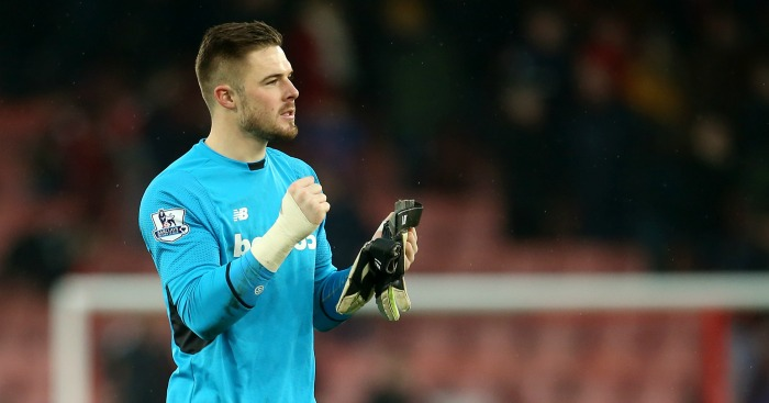 Jack Butland: Could get a new contract