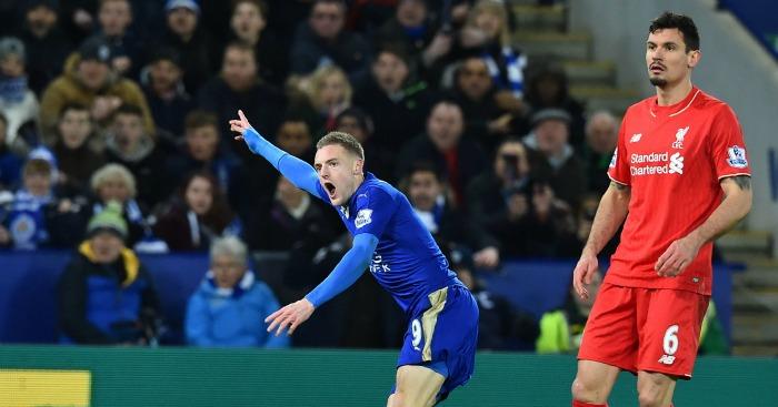 Jamie Vardy: Striker the top scorer in the Premier League