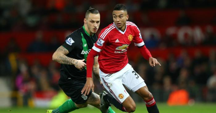 Jesse Lingard: Winger opened scoring against Stoke