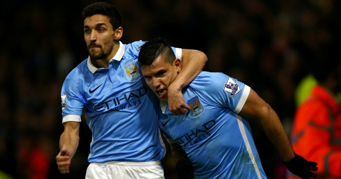 Jesus Navas: Injury worry, but Sergio Aguero is in fine form