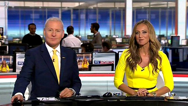 Jim White: Mr Transfer Deadline Day