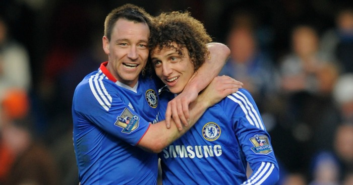 Terry & Luiz: Defenders team-mates for three years