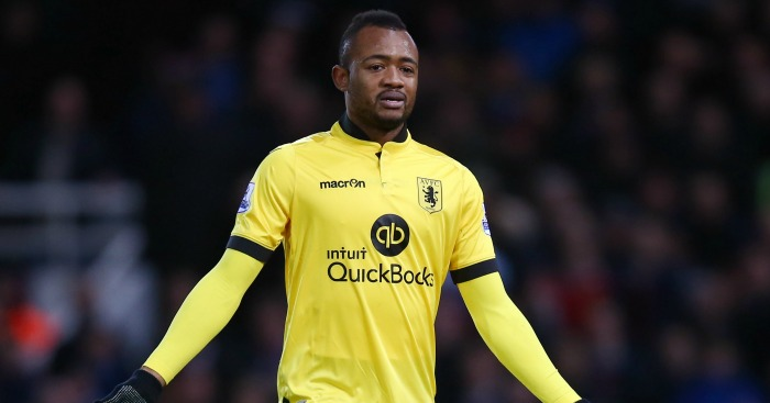 Jordan Ayew: Forward saw red for first half elbow
