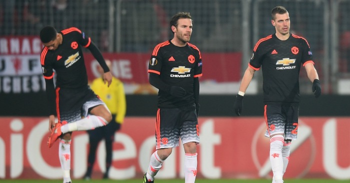 Juan Mata: Midfielder during defeat at FC Midtjylland