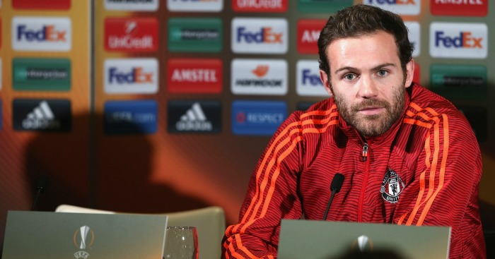 Juan Mata: Brushed off Manchester United criticism